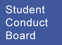 Student Conduct Board Button